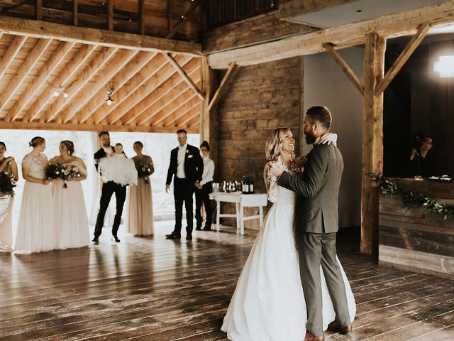 Kyle and Taylor's Wedding in Long Eddy, New York 63