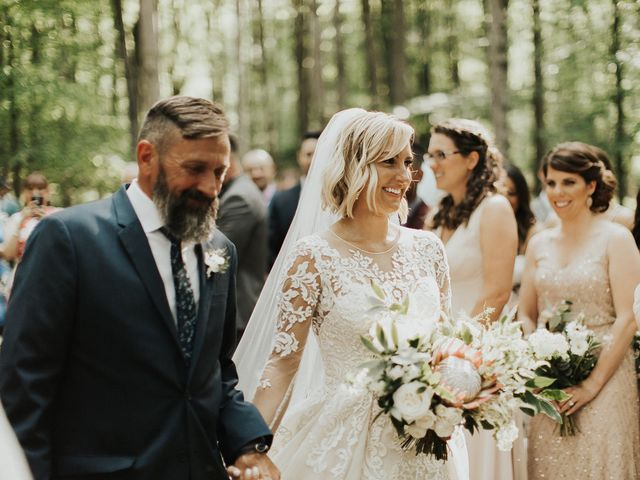 Kyle and Taylor's Wedding in Long Eddy, New York 78