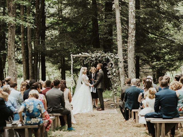 Kyle and Taylor's Wedding in Long Eddy, New York 86