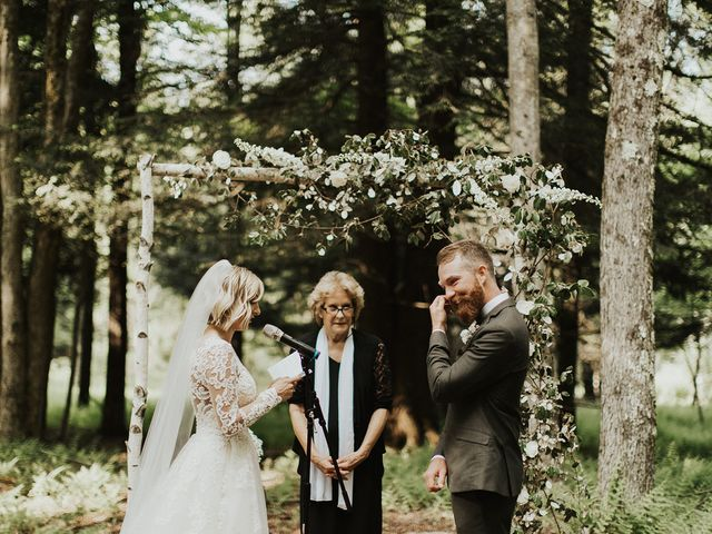 Kyle and Taylor's Wedding in Long Eddy, New York 89