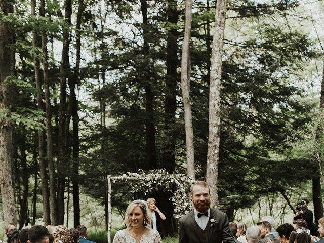 Kyle and Taylor's Wedding in Long Eddy, New York 92