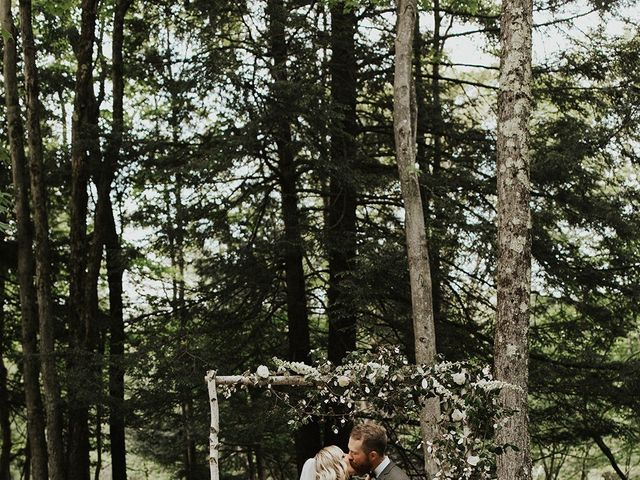 Kyle and Taylor's Wedding in Long Eddy, New York 93