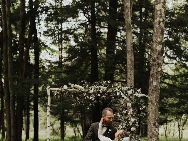 Kyle and Taylor's Wedding in Long Eddy, New York 95