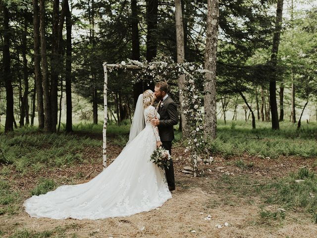 Kyle and Taylor's Wedding in Long Eddy, New York 96