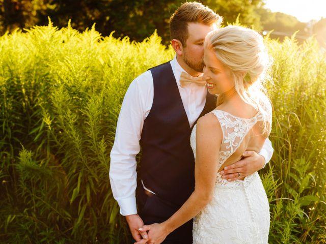 Kyle and Ellen's Wedding in Holland, Michigan 10