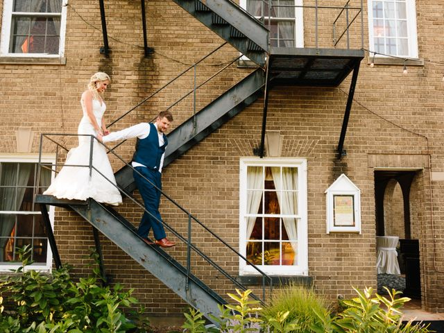 Kyle and Ellen's Wedding in Holland, Michigan 12