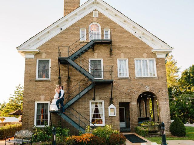 Kyle and Ellen's Wedding in Holland, Michigan 13