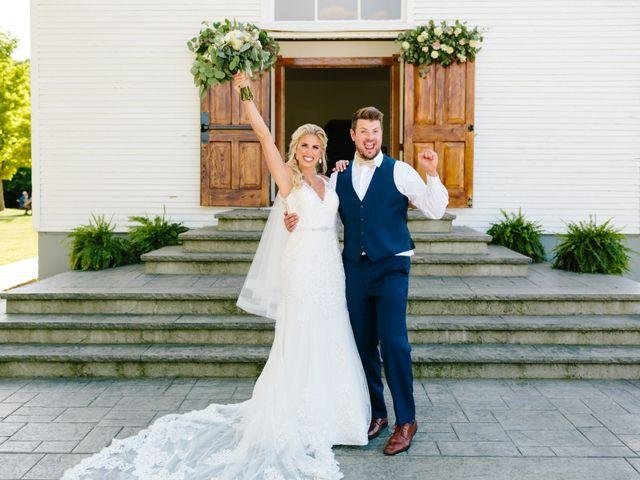 Kyle and Ellen's Wedding in Holland, Michigan 20