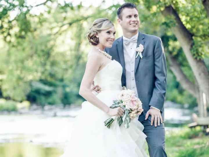 The wedding of Ryan and Jennifer