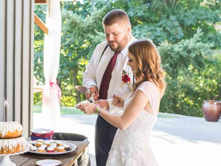 The wedding of C.J and Paige