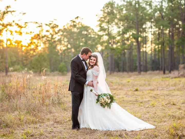 The wedding of Caroline and Jason