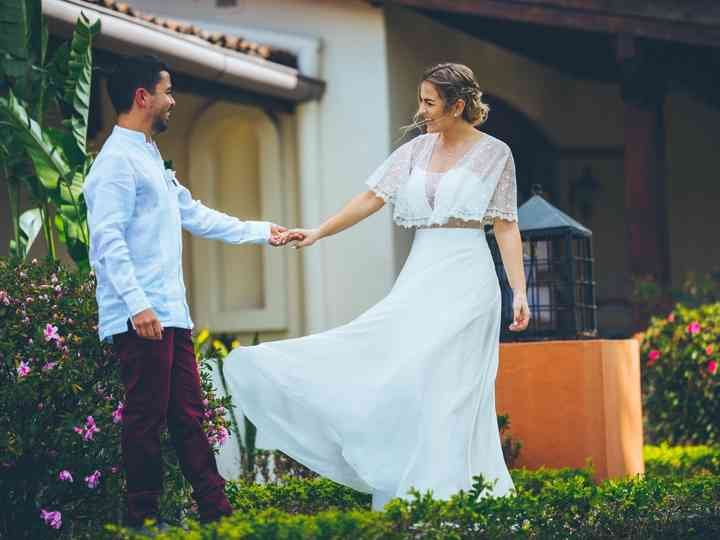 The wedding of Paola and Augusto