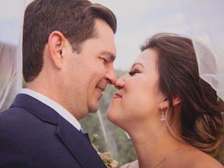 The wedding of Sarah and Trevor