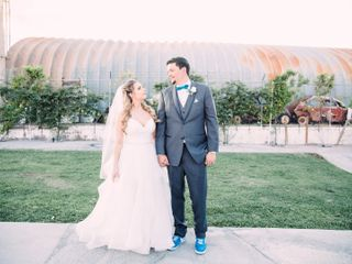 The wedding of Courtney and Aaron