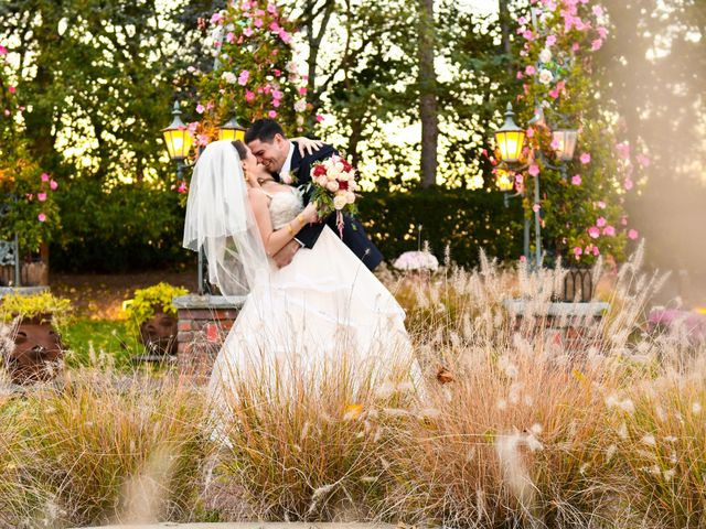 The wedding of Kristen and John