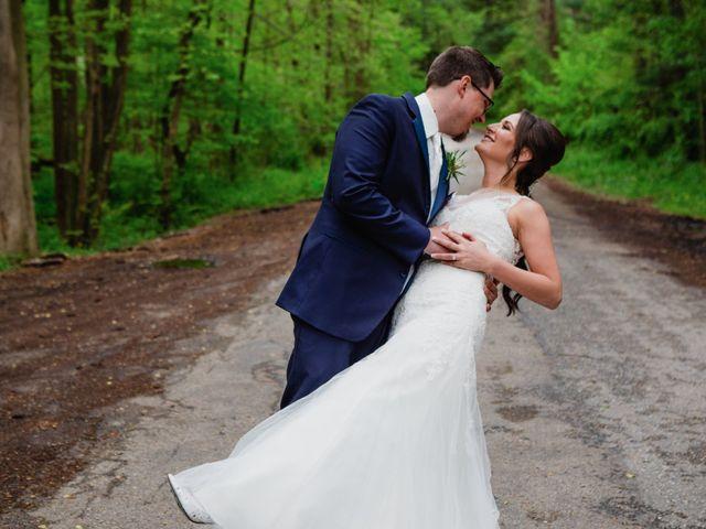 The wedding of Khrystyne and Brendan