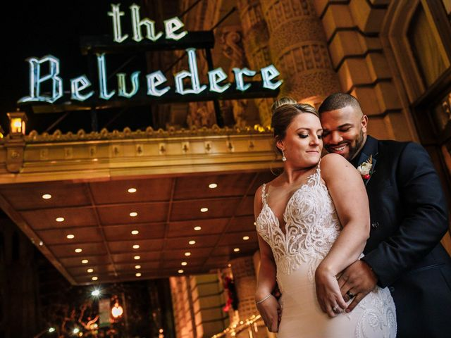 The wedding of Katie and Jamel