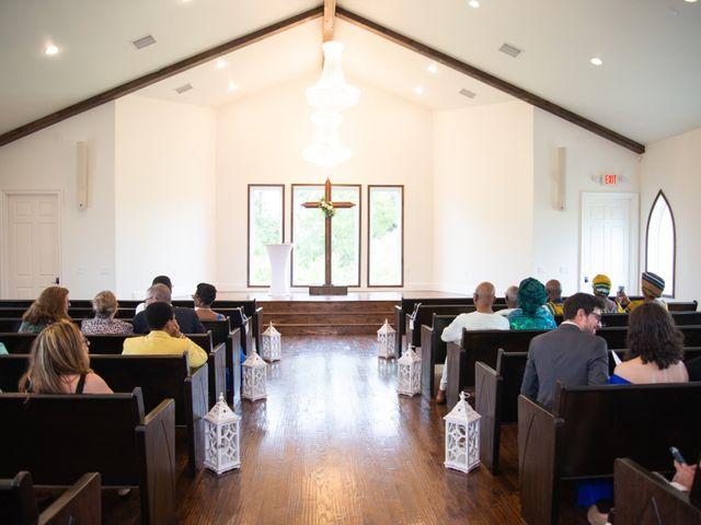 Innocent and Mercy's Wedding in Gunter, Texas 5