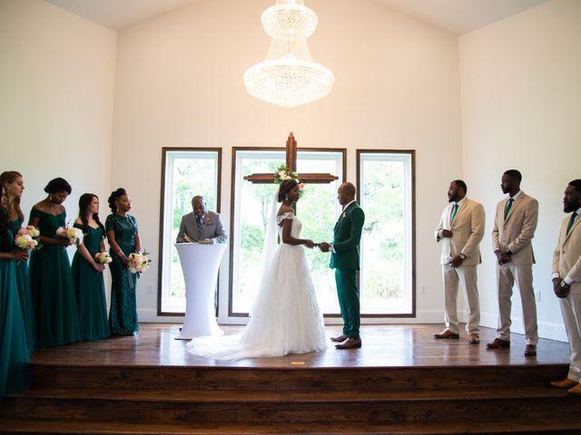 Innocent and Mercy's Wedding in Gunter, Texas 7