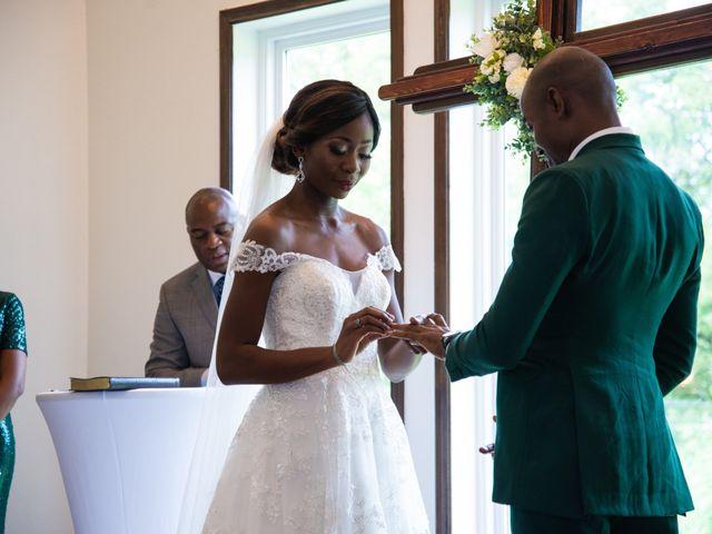Innocent and Mercy's Wedding in Gunter, Texas 8