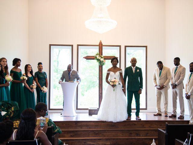 Innocent and Mercy's Wedding in Gunter, Texas 9