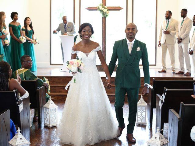 Innocent and Mercy's Wedding in Gunter, Texas 10