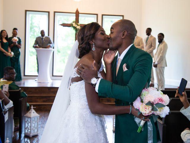 Innocent and Mercy's Wedding in Gunter, Texas 11