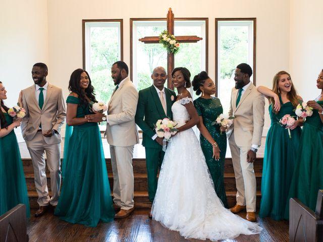 Innocent and Mercy's Wedding in Gunter, Texas 12