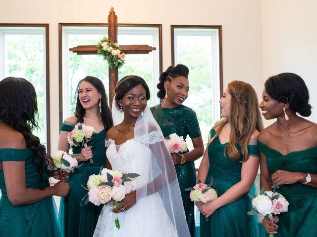 Innocent and Mercy's Wedding in Gunter, Texas 13