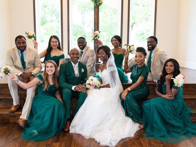 Innocent and Mercy's Wedding in Gunter, Texas 15