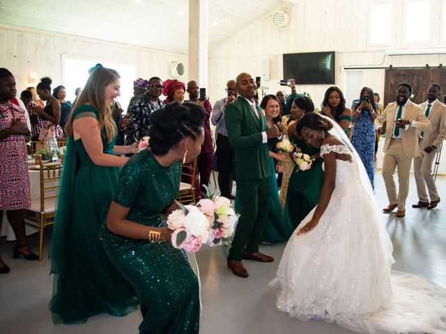 Innocent and Mercy's Wedding in Gunter, Texas 19
