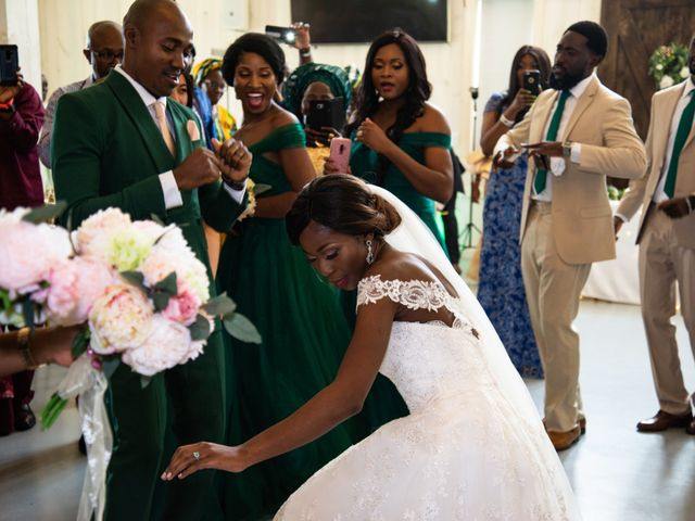 Innocent and Mercy's Wedding in Gunter, Texas 20
