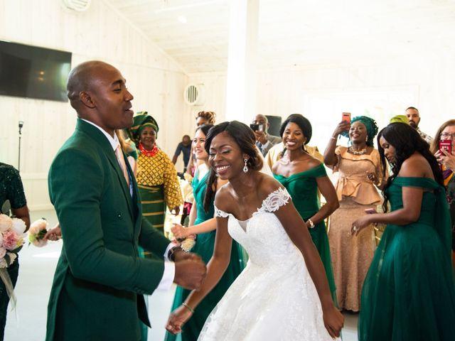 Innocent and Mercy's Wedding in Gunter, Texas 21