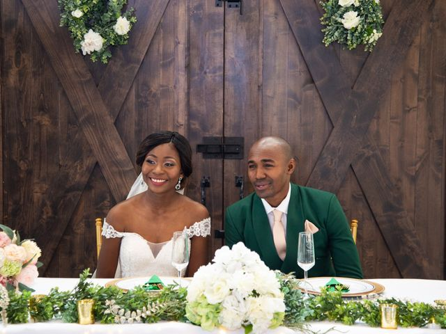 Innocent and Mercy's Wedding in Gunter, Texas 22