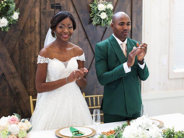 Innocent and Mercy's Wedding in Gunter, Texas 23