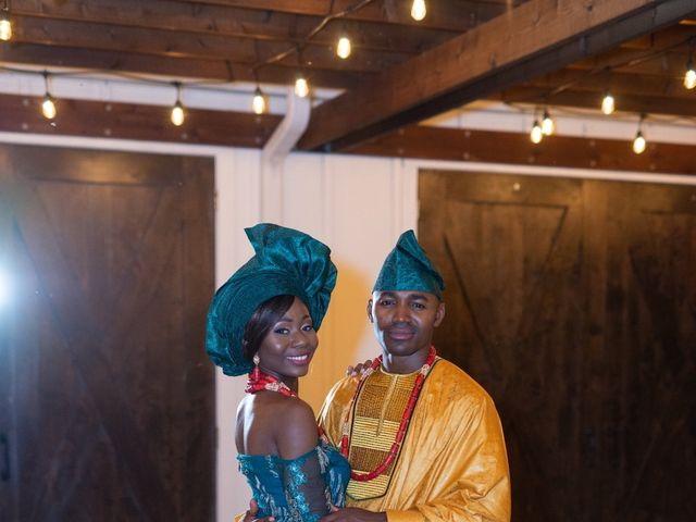 Innocent and Mercy's Wedding in Gunter, Texas 49