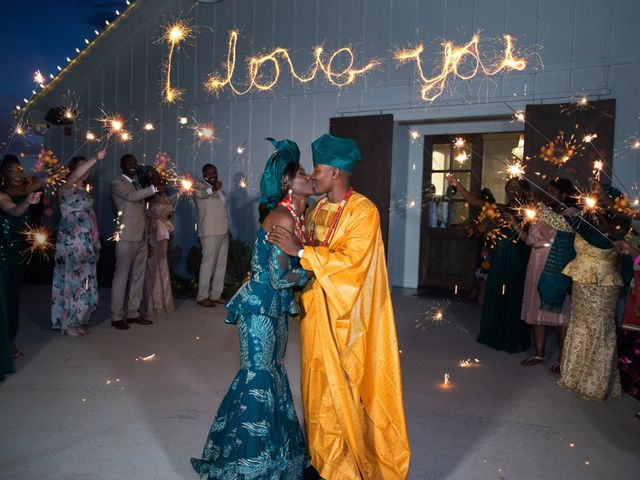Innocent and Mercy's Wedding in Gunter, Texas 51