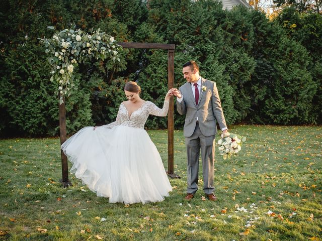 The wedding of Brittany and Alex
