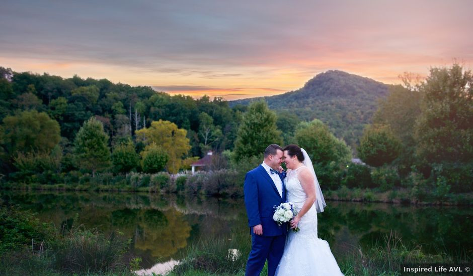 Joel and Abbie's Wedding in Lake Lure, North Carolina