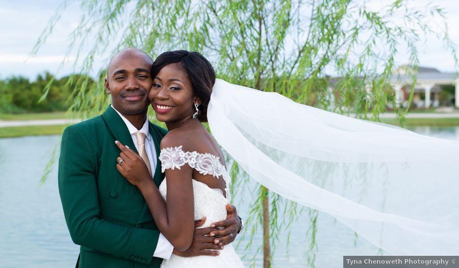 Innocent and Mercy's Wedding in Gunter, Texas