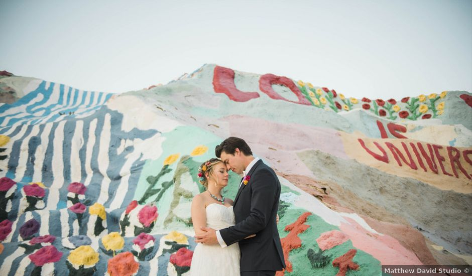 Kate and Thomas's Wedding in Niland, California