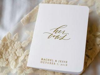 The wedding of Rachel and Jesse 2