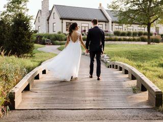 The wedding of Lindsay and Bailey