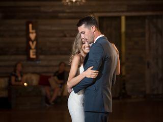 The wedding of Katie and Bradley