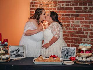 The wedding of Caitlin and Skyler 1