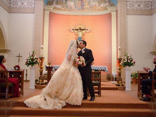 The wedding of Jaime and Maria