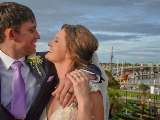 The wedding of Molly and Josiah