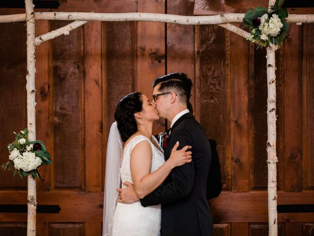 The wedding of Nick and Maria