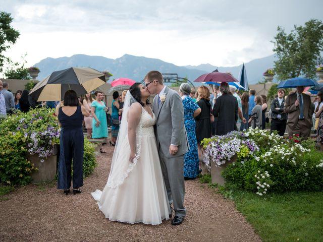Dylan and Debbie's Wedding in Colorado Springs, Colorado 10