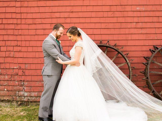 The wedding of Shannon and Matt